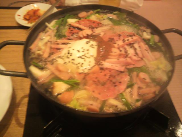 ご近所会で韓国料理