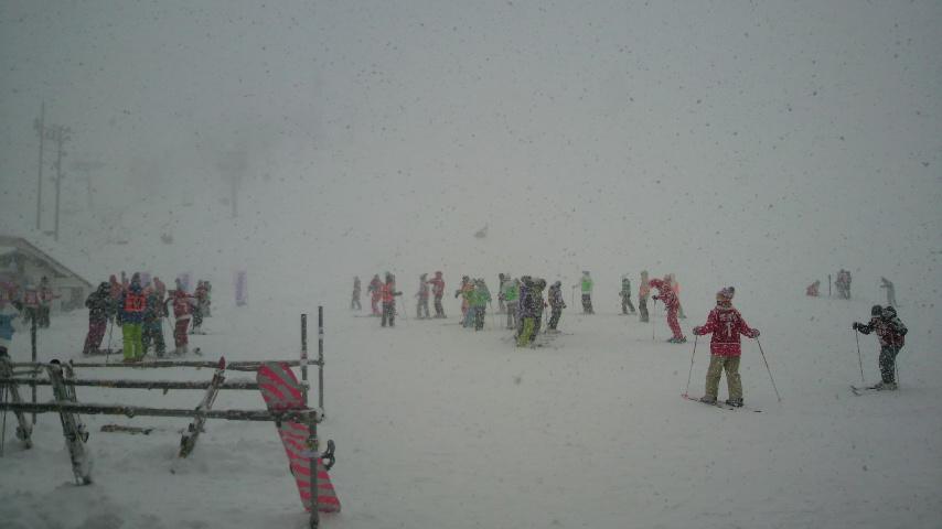 スキー学習引率