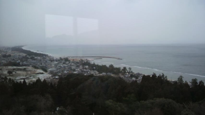 宿からの眺め
